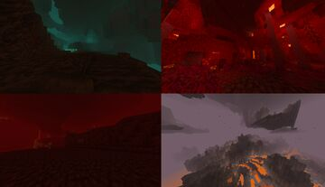 Nether Soundtrack New and Old Minecraft Texture Pack