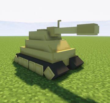 Tank Over Ravager (Optifine) Minecraft Texture Pack