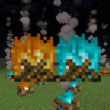 Programmer Art Campfires! Minecraft Texture Pack
