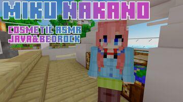 Miku-Nakano [COSMETIC ASMR] Java&Bedrock Minecraft Texture Pack