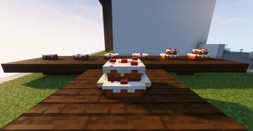 Better Cakes !! 3D Cakes (no need optifine) Minecraft Texture Pack