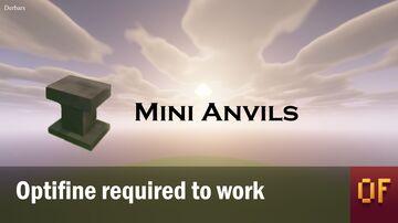 Mini anvils Minecraft Texture Pack