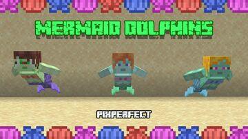 Mermaid Dolphins - 1.16.5 (Optifine) Minecraft Texture Pack