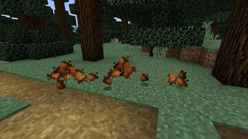 Acorns replace berries Minecraft Texture Pack