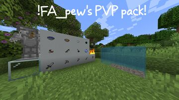 FA_pew's PVP pack 2.0 Minecraft Texture Pack