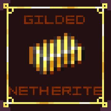 Gilded Netherite Minecraft Texture Pack