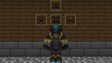 Better Netherite Armor Minecraft Texture Pack