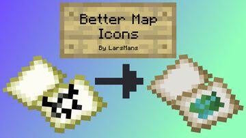 Better Map Items Minecraft Texture Pack