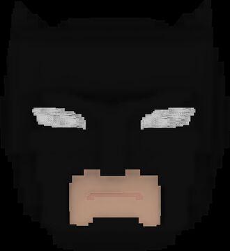 Batman Cowl Minecraft Texture Pack