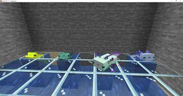 Better Axolotl Skins Minecraft Texture Pack