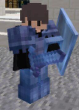 Light blue enchantment glint Minecraft Texture Pack