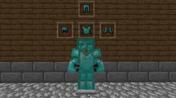 Better Diamond Armor Minecraft Texture Pack
