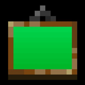 Green Screen Paintings Minecraft Texture Pack