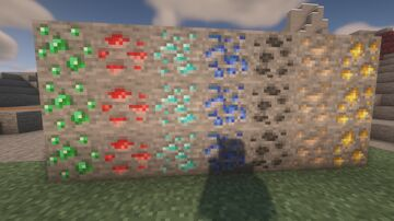 Minecraft New Ore Textures For Old Versions Minecraft Texture Pack