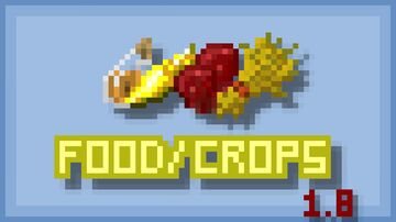 1.8 Consistent Foods/Crops Minecraft Texture Pack