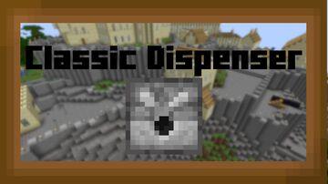 Classic Dispenser (Default & Programmer Art) Minecraft Texture Pack