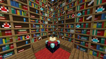 More Bookshelfs!! Minecraft Texture Pack