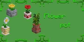 Flower Pot (Addons for TazerCraft) Java Minecraft Texture Pack