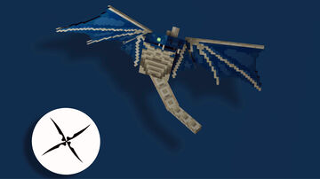 Better phantom model   (optifine) Minecraft Texture Pack