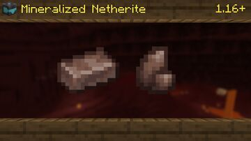 Mineralized Netherite | 1.17+ Minecraft Texture Pack