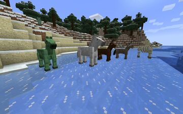 Time's Old Horses (Optifine) Minecraft Texture Pack