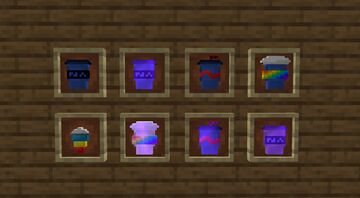 colorful cups instead of potions (1.16 texture pack)! Minecraft Texture Pack