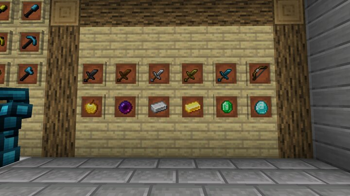 swords and items