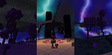 Biomes of the End Remastered Minecraft Texture Pack
