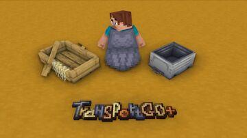 Transport Go+ | Better transparent Minecraft Texture Pack