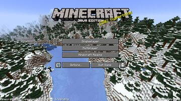 1.18 Mountains Panorama Minecraft Texture Pack