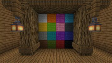 Wool Outlines 1.16+ Minecraft Texture Pack