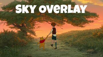 Winnie the Pooh Sky Overlay Minecraft Texture Pack
