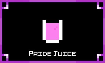 Pride Juice Minecraft Texture Pack
