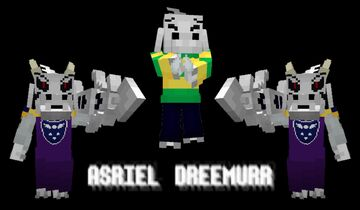 Asriel Dreemurr God Of Withering Minecraft Texture Pack