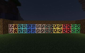 Glowing ores Minecraft Texture Pack