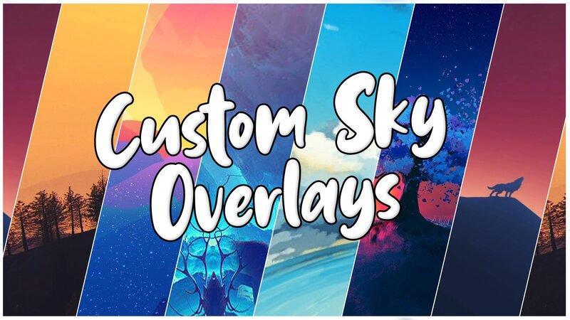 Custom Minecraft Skies Release | Best Custom Sky Overlays For PvP