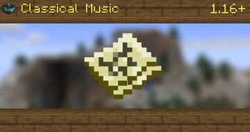 Classical Music | 1.16+ Minecraft Texture Pack