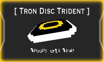Tron Disc (Spins w. audio) Minecraft Texture Pack