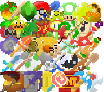 The Video Game Mash-Up Pack (1.16.4+) Minecraft Texture Pack