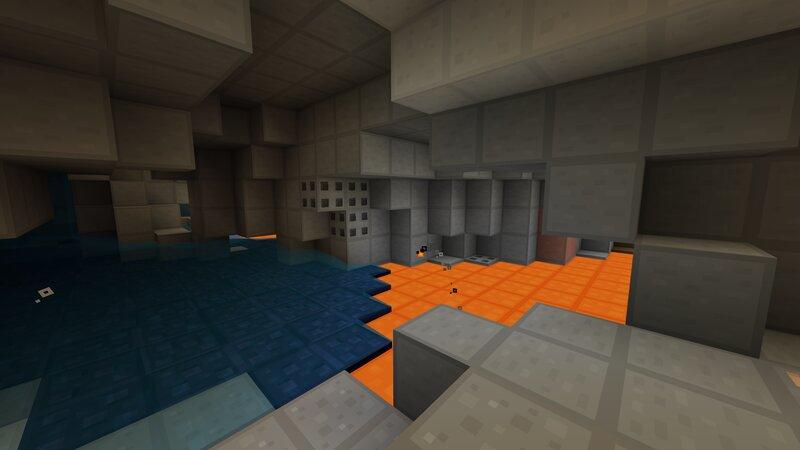 Inside a large Cavern