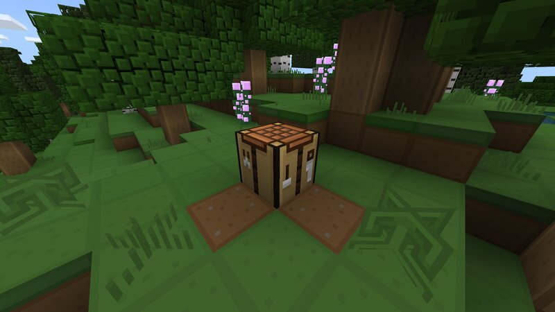 A Crafting Table
