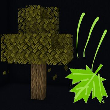 Falling Leaves Resource Pack Minecraft Texture Pack