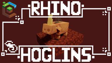 Rhino Hoglins 32x Minecraft Texture Pack