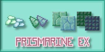 Prismarine Extended - Java Minecraft Texture Pack