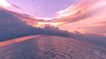 Sunset Ocean (Sky Overlay) Minecraft Texture Pack
