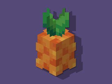 Pineapple Hat Minecraft Texture Pack