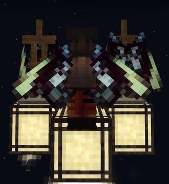 Queen Alexandra's Birdwing Butterfly Elytra Wings Minecraft Texture Pack