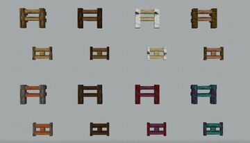 NAD's Fences Minecraft Texture Pack