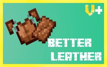 Better Leather - Vanilla Plus Minecraft Texture Pack