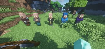Villager Illagers - Illagers Now Have Villager Faces Minecraft Texture Pack